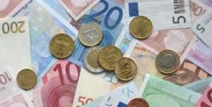 Geld op foto